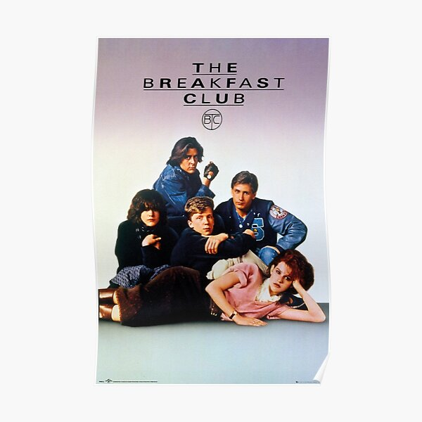 The Breakfast Club Art Poster