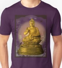 Buddha on purple T-Shirt
