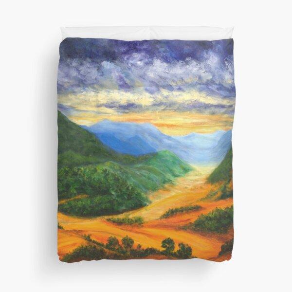 This Healing Land Duvet Cover