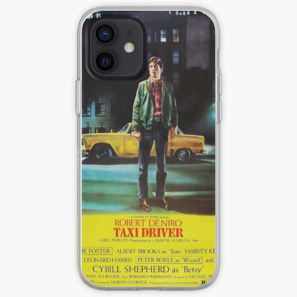 Taxi Driver Art Funda blanda para iPhone