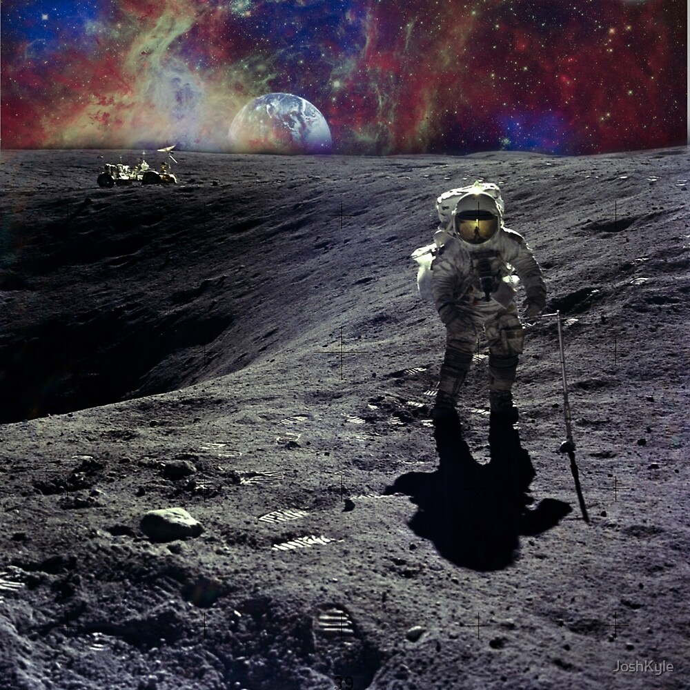 Space Man by JoshKyle