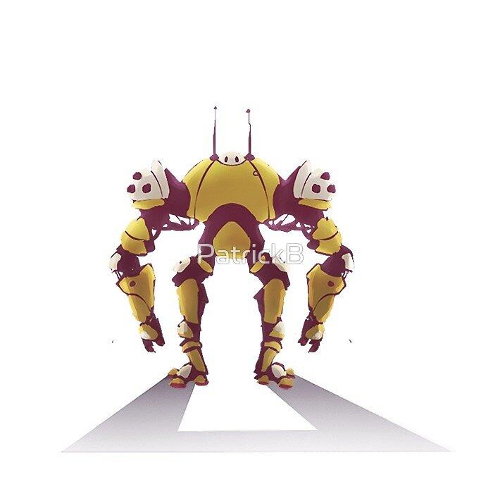 Little drama robot by PatrickB