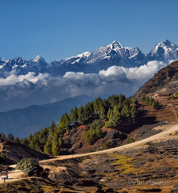Quarry and Himalayas by Peter Hammer