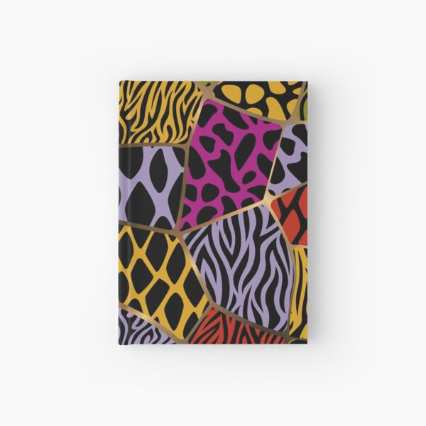 Animal Patterns – Freeform Style Hardcover Journal
