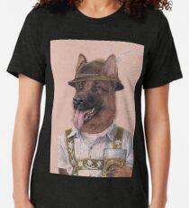 Deutscher Schäferhund Vintage T-Shirt