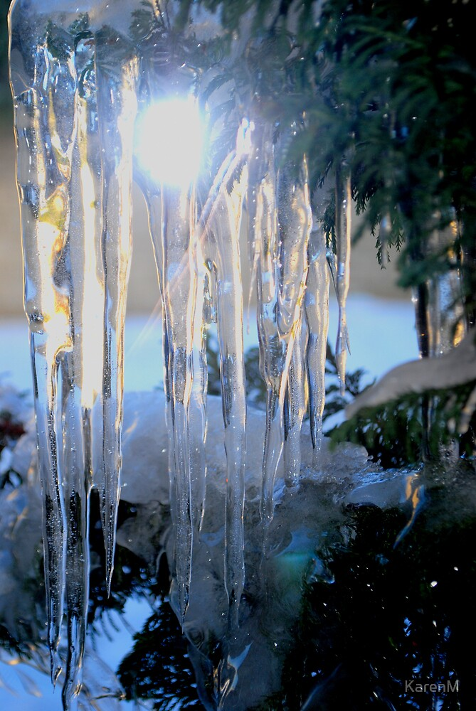 Sunny Icicles by KarenM