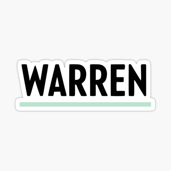 Top Selling Elizabeth Warren 2020 President Merchandise Sticker