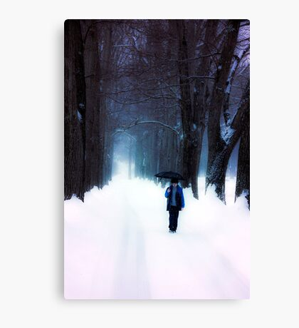 Before Dusk Had Meaning Canvas Print