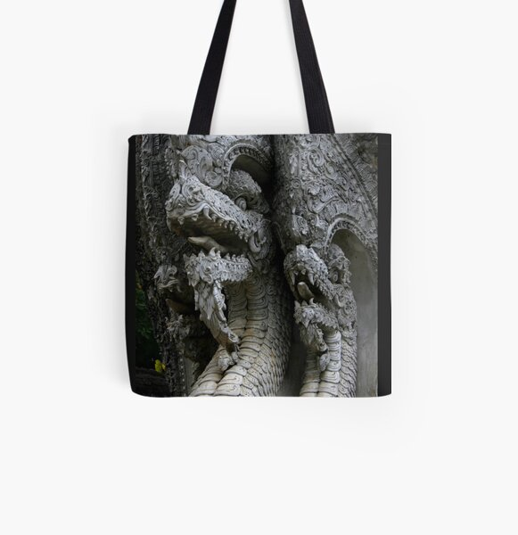 Dragons! All Over Print Tote Bag
