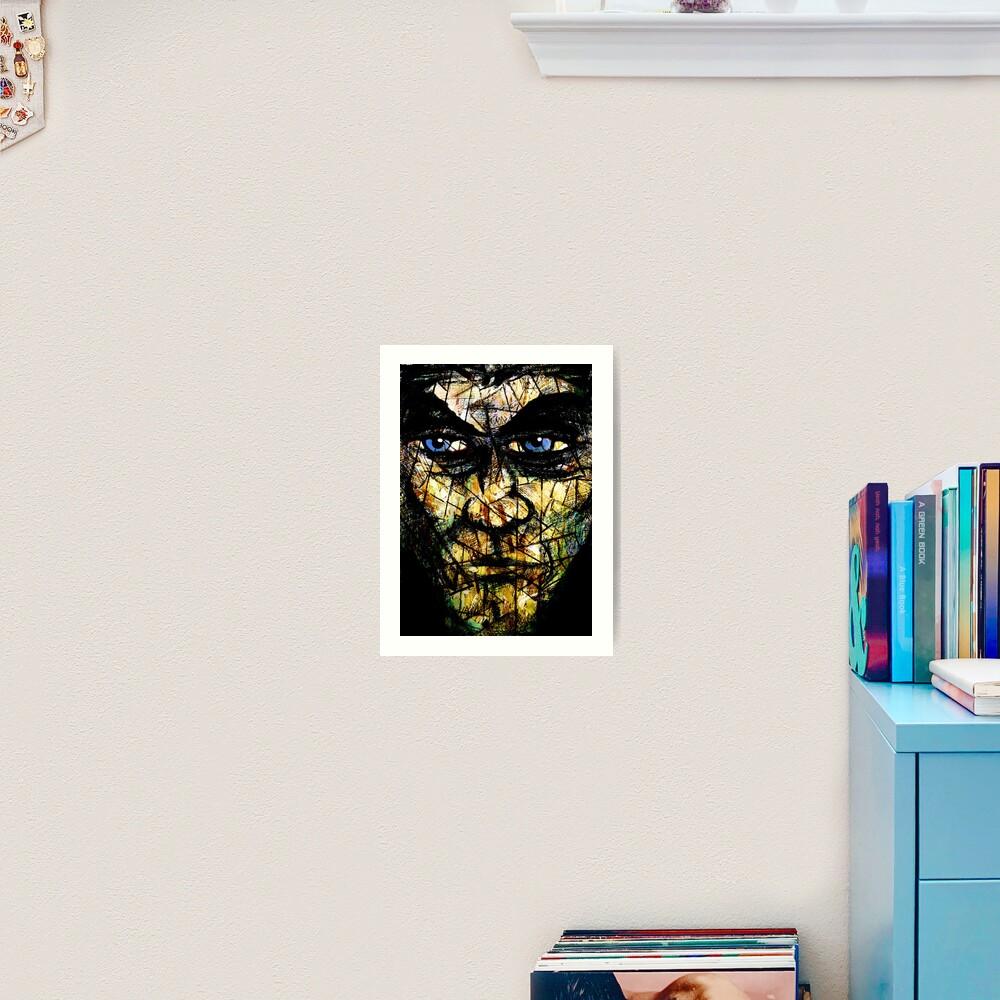 Long Face Wide Art Print