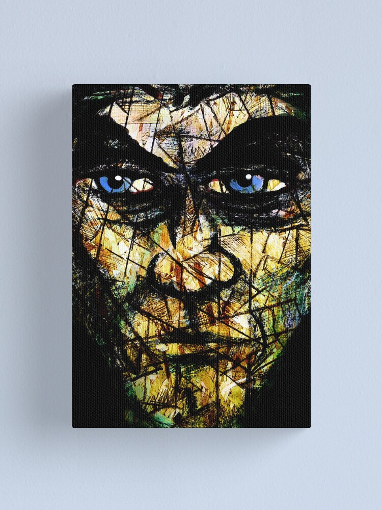 Alternate view of Long Face Wide Canvas Print