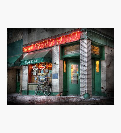 Oyster House  Photographic Print