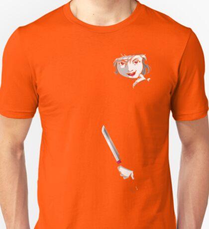 Ninjas can hide anywhere. T-Shirt
