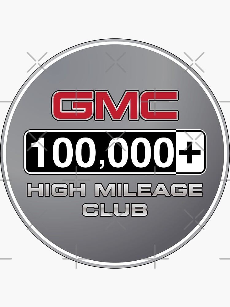GMC High Mileage Club - 100,000+ Miles by brainthought