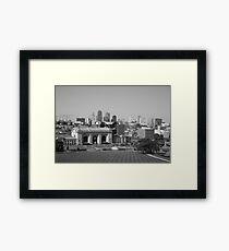 Kansas City Framed Print