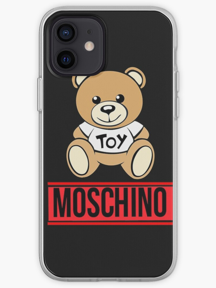 Moschino ours rouge | Coque iPhone