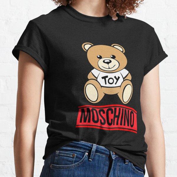 oso moschino rojo Camiseta clásica