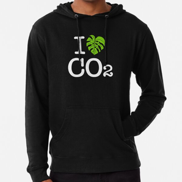 I love Co2 Leichter Hoodie