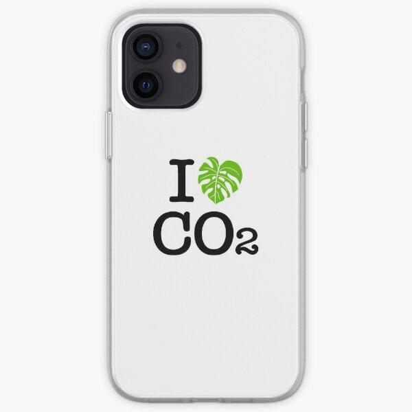 I love Co2 Ich liebe Co2 iPhone Flexible Hülle