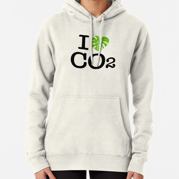 I love Co2 Ich liebe Co2 Hoodie