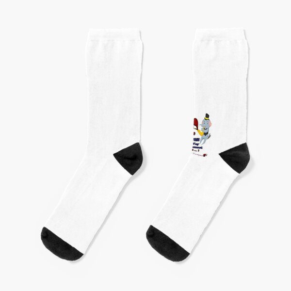 Compression Socks For Men Women African Safari Theme With Giraffes And Elephants On Sunet Casual Sock