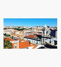 Lisbon Rooftops Photographic Print