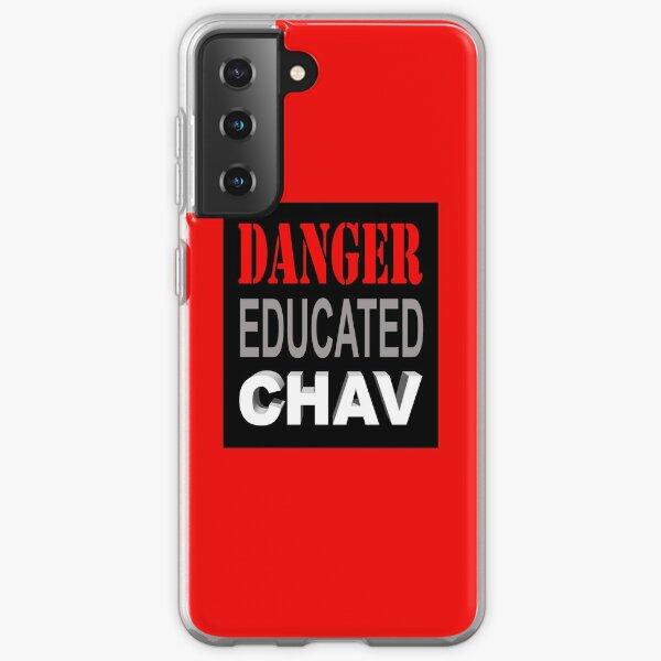 DANGER EDUCATED CHAV Samsung Galaxy Soft Case