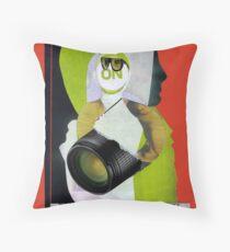 Performance art Throw Pillow