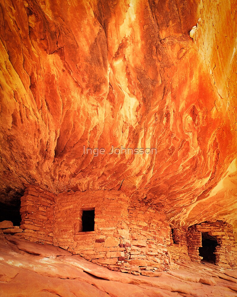 Flaming Ceiling by Inge Johnsson