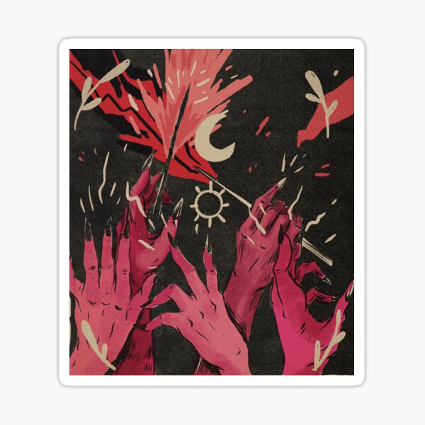 Witch Hands Sticker