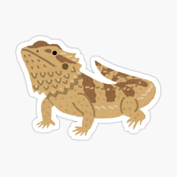 Bearded Dragon Sticker Sticker