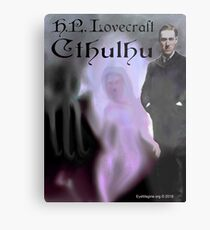 H.P. Lovecraft Cthulhu Metal Print