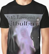 H.P. Lovecraft Cthulhu Graphic T-Shirt