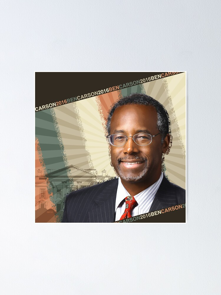 Alternate view of Ben Carson 2016 Poster