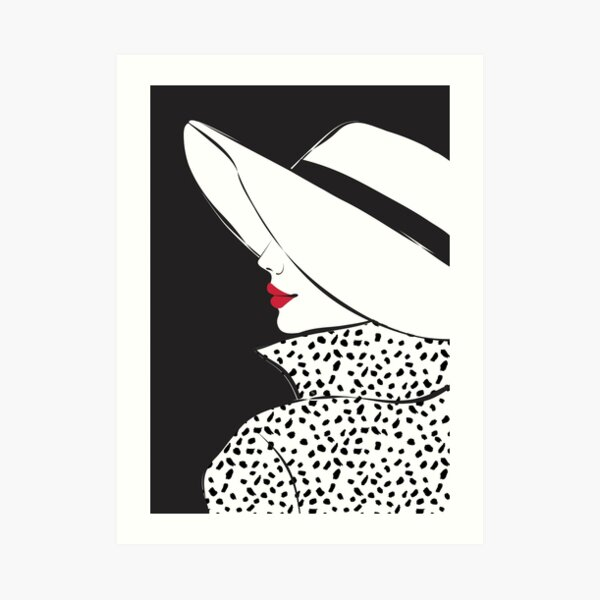Elegant Blair Art Print