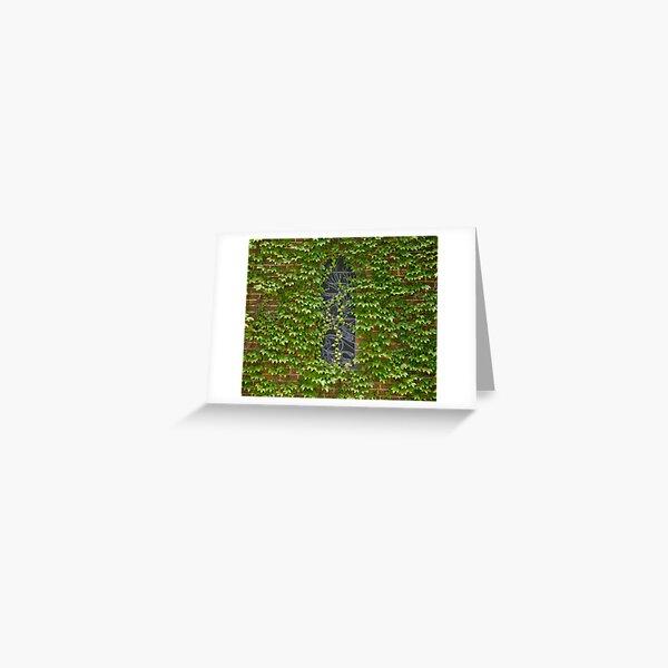 Lost Windows 1 - Gostwyck Chapel - Spring Greeting Card