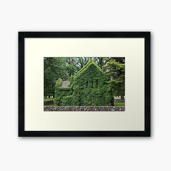Gostwyck Chapel - Spring Framed Art Print