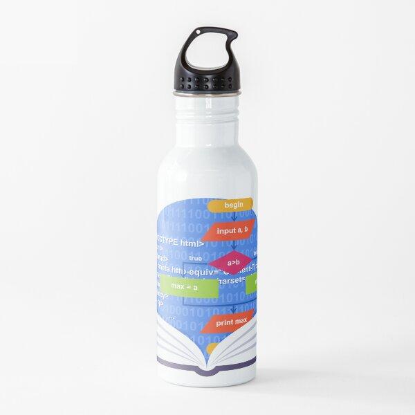 Coding Emblem Water Bottle