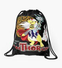The Mighty Mega AmTHORos Drawstring Bag