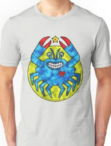 Blue Crab (Clouds) T-Shirt