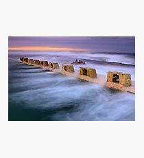 Merewether Ocean Baths - Sun Rise Photographic Print