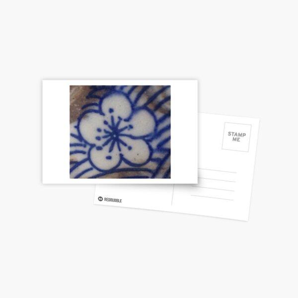 Blue Bloom Postcard