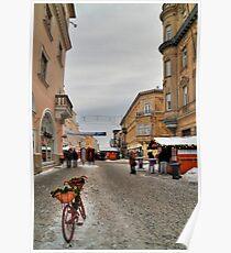 Street for pedestrians Poster