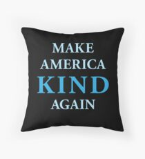 Make America Kind Again Throw Pillow
