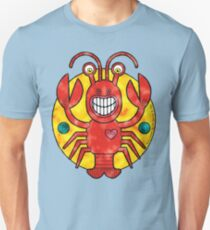 Rick Lobster (Clouds) Unisex T-Shirt