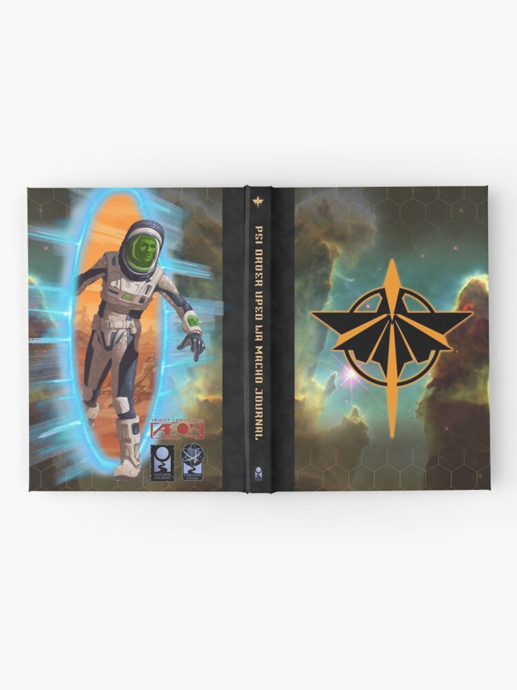 Alternate view of Æon: Psi Order Upeo wa Macho Hardcover Journal