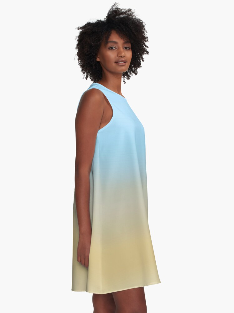 Alternate view of Beach fading A-Line Dress
