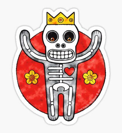 Bone King (Clouds) Sticker
