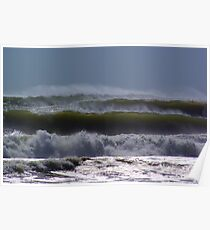 Cyclone Vania Waves hit NSW 2011 Poster