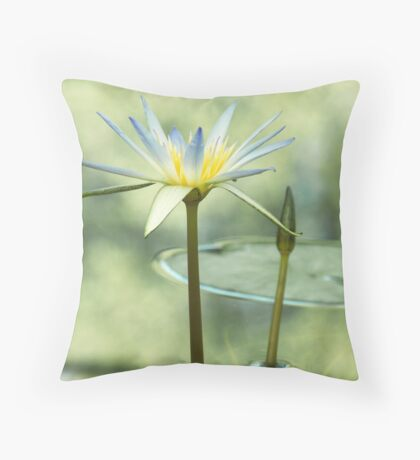Sacred Blue Lotus Of Egypt Throw Pillow